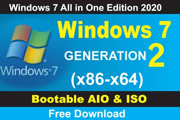 Window 7 All in One Edition 2020