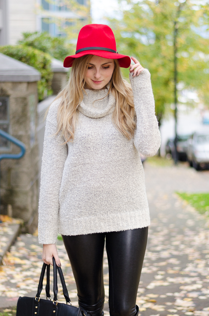 How to wear a felt hat, Winter Outfits