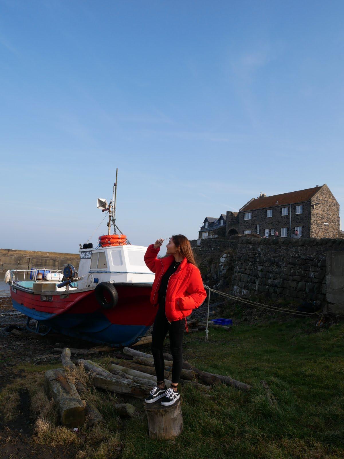 Craster, Northumberland boats