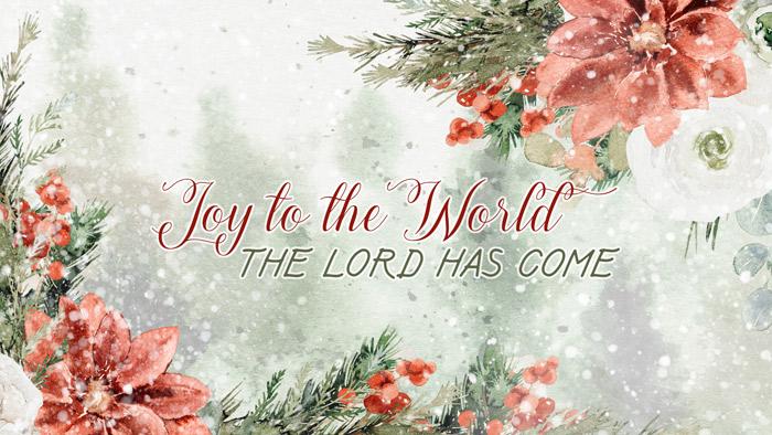 Joy to the World Wallpaper