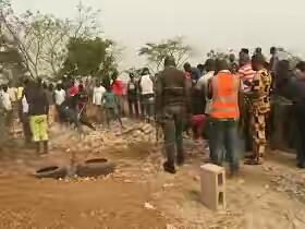 Dead bodies were discovered in Enugu church building Foundation (photos)