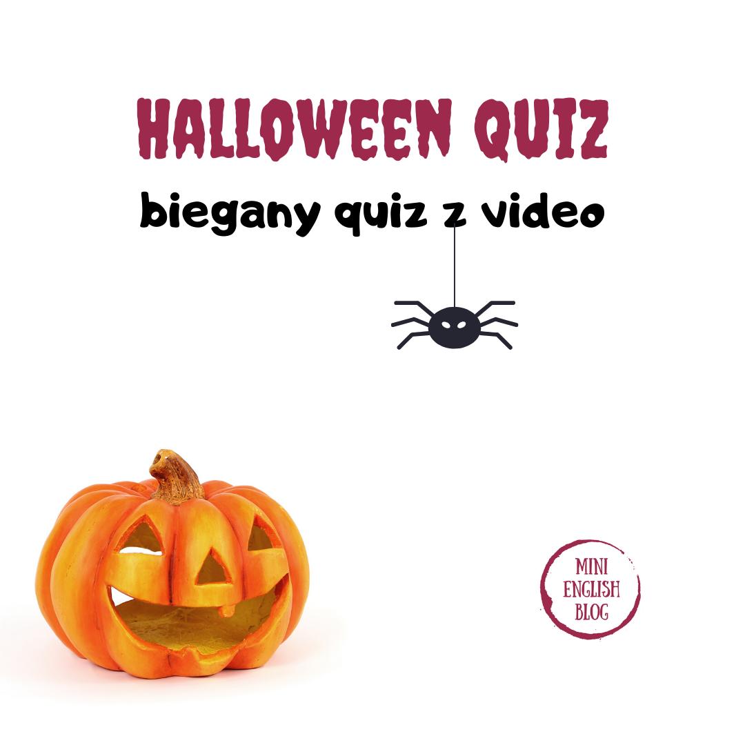 Halloween Quiz - biegany quiz z qr kodami dla starszych uczniów
