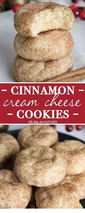 Cinnamon Cream Cheese Cookies