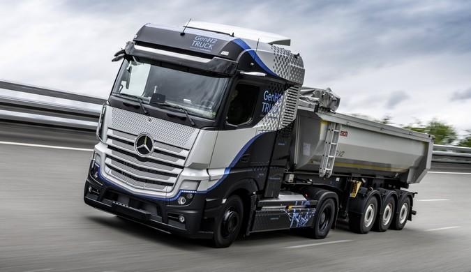 Mercedes-Benz GenH2 Truck movido a hidrogênio encara rigorosa bateria de testes