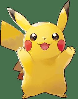 Pikachu - Pokémon Let's Go Pikachu & Eevee