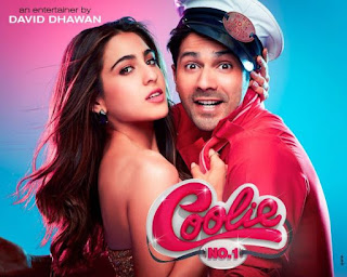 Coolie No 1 First Look, Coolie No 1 First Poster