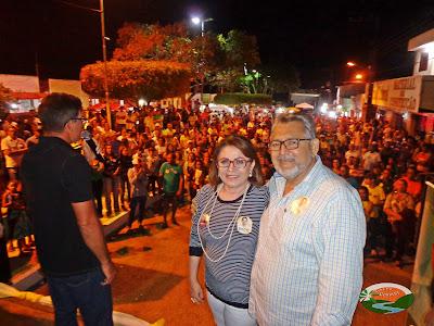 Prefeita Edice apresenta seus candidatos ao Córrego