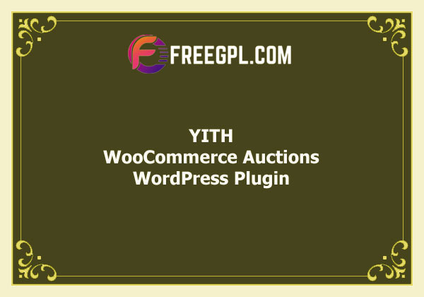 YITH WooCommerce Auctions Free Download