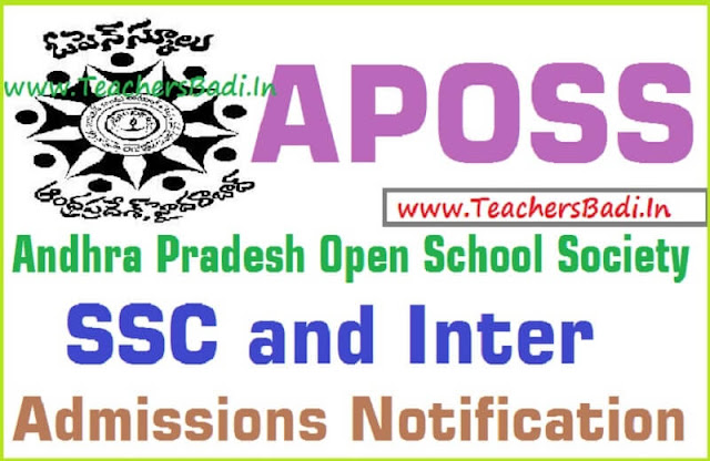 APOSS,SSC,Inter Admissions