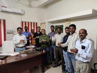 कृषि विज्ञान केन्द्र में सिखाया गया सेनेटाईजर बनाना