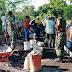 Koramil 0821/20 Padang Terjunkan Personilnya Bantu Rabat Jalan Desa