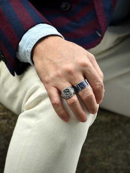 40代メンズの指輪