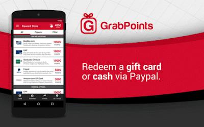 GrabPoints, tu nueva app para ganar dinero