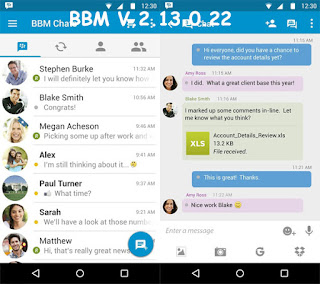 Download BBM + BBM2 Mod Versi 2.13.0.22 April 2016