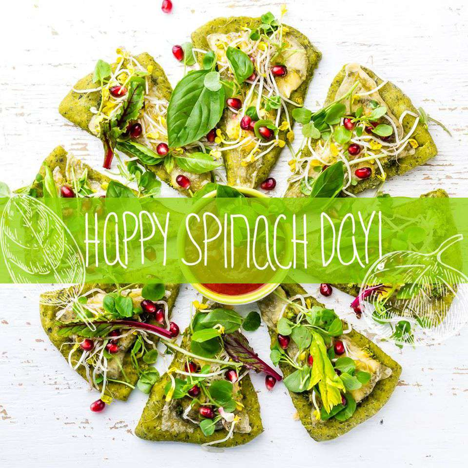 National Spinach Day Wishes Images download