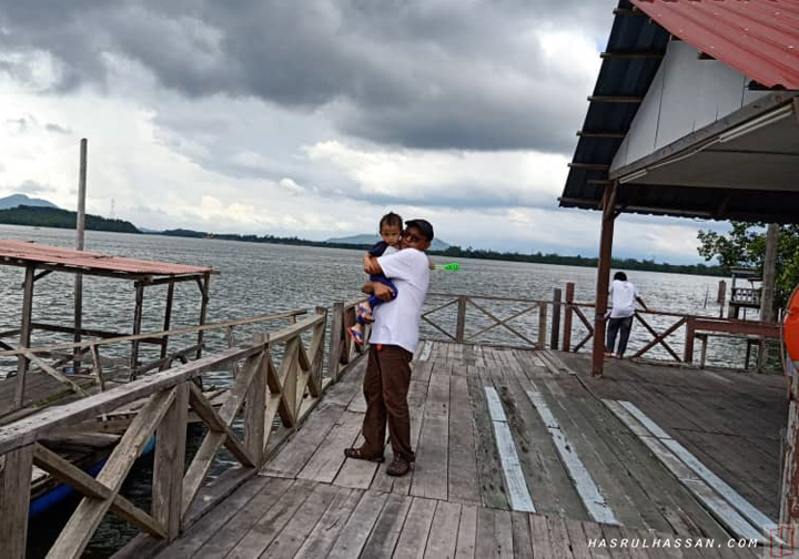 Chalet Ibrahim Kg Baharu Ayer Tawar berdekatan Lumut