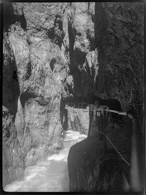 Blick in die Partnachklamm 2 - 1920-1940