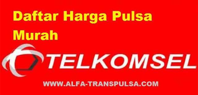 Daftar Harga Pulsa Murah Telkomsel Terbaru Terupdate Seluruh Wilayah Indonesia