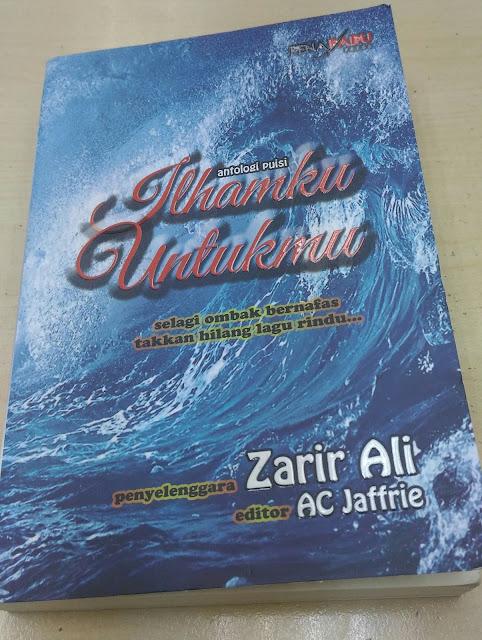 Akhirnya Buku Antologi Puisi Ilhamku Untukmu Berjaya Diterbitkan