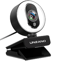 UNZANO PC Streaming Webcam
