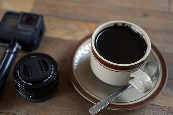 Secangkir kopi di Nobon Coffee Rembang