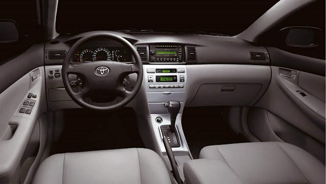 Toyota Corolla 2006 - interior