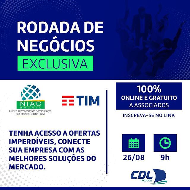 NIAC Brasil promove Rodada de Negócios Virtual