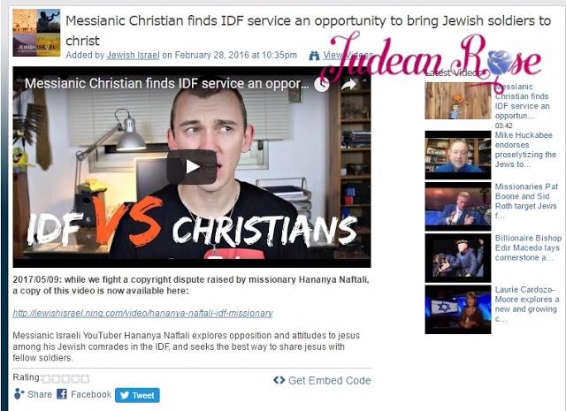 488246ba2 Christian Missionary Hananya Naftali Appointed As PM Netanyahu s ...