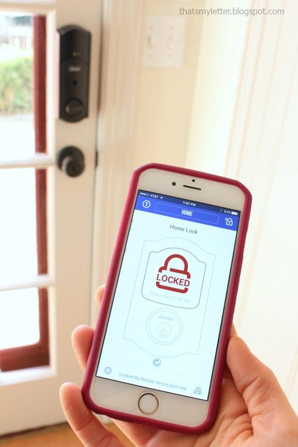 schlage sense smart deadbolt app