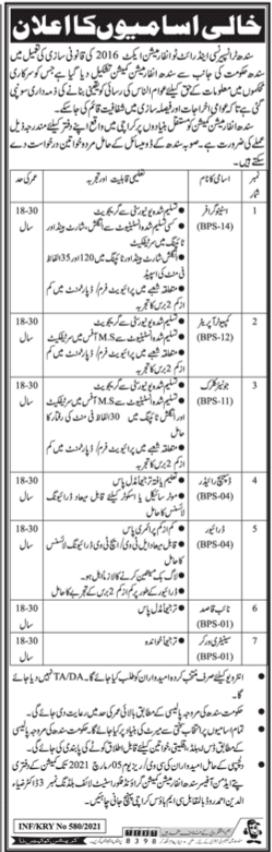 Sindh Information Commission Jobs 2021 in Karachi