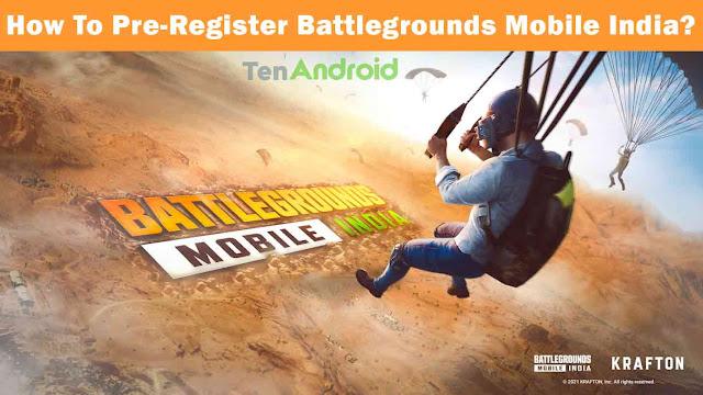 How To Pre-Register Battlegrounds Mobile India? | BGMI Pre-Register