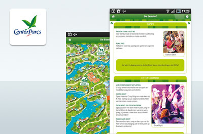 Center Parcs Android App