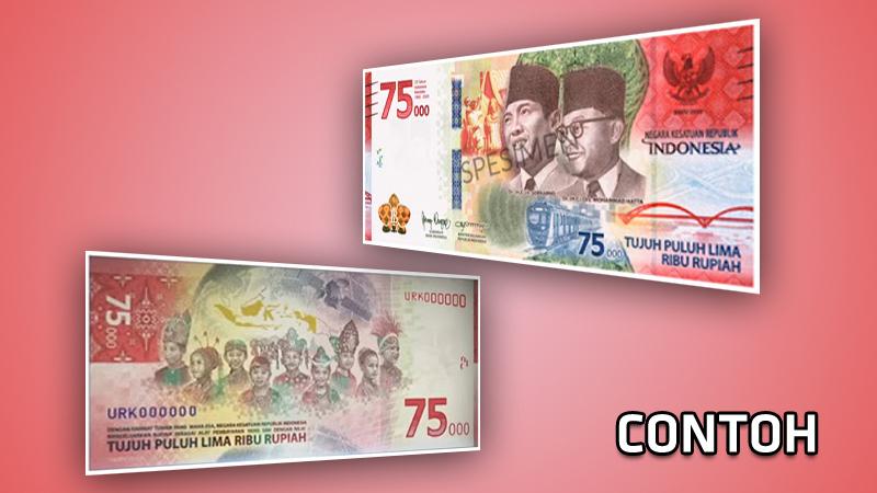 Cara Menukarkan Uang Baru 75000 di Bank Indonesia, Ini Syaratnya