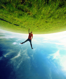 girl going from earth brilliant photography