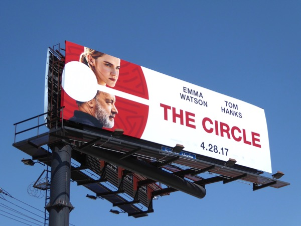 The Circle film billboard