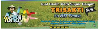 MANGYONO.com Jual Benih Padi Trisakti New