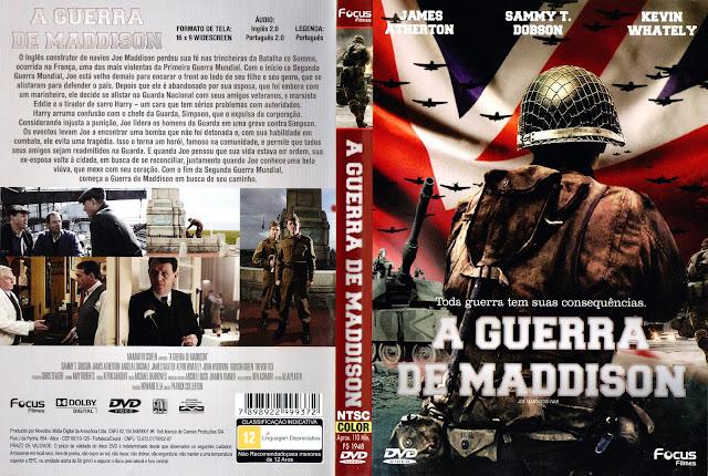 Capa DVD A Guerra de Maddison