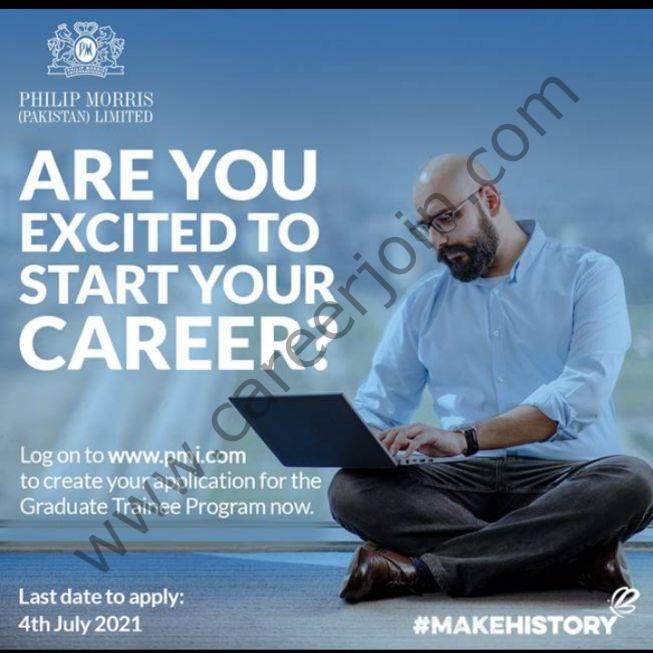 Philip Morris International PMI Graduate Trainee Program 2021 in Pakistan