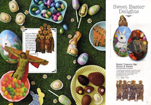 Easter collage mashup