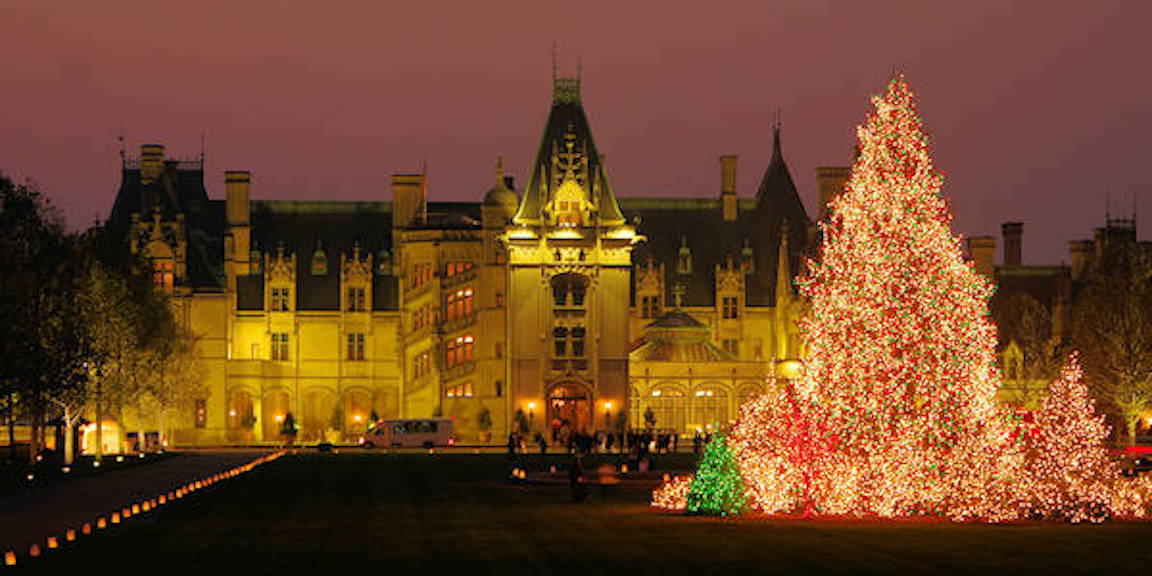 hearth and home theme biltmore house and garden candlelight christmas 2016