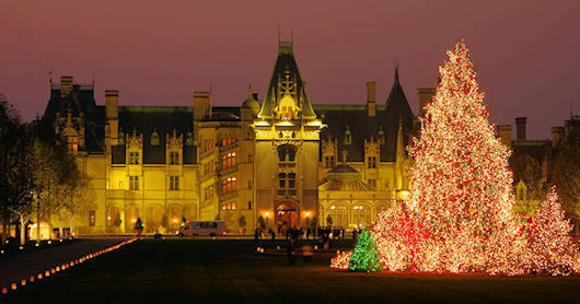 """HEARTH  and HOME""  Theme ---Biltmore House and Garden  Candlelight Christmas 2016"