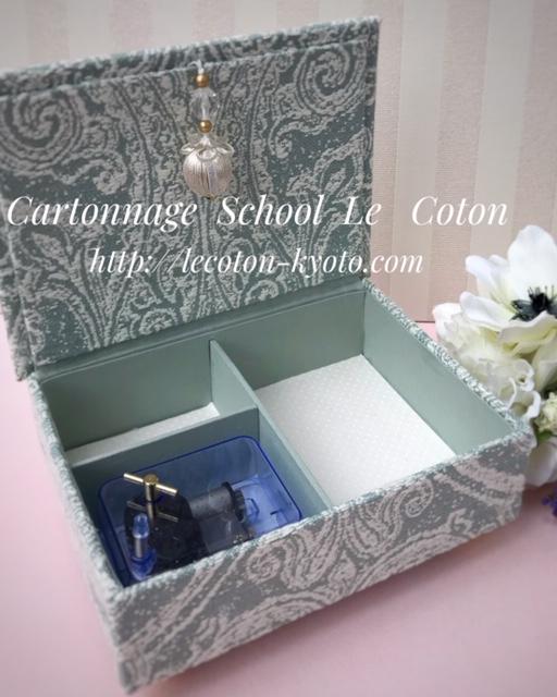 カルトナージュ教室:オルゴールスタイル