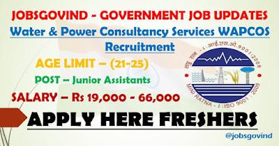 WAPCOS Recruitment 2021