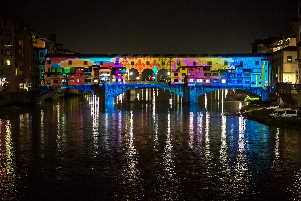 La Città Si Accende Con F Light Firenze Light Festival Dal 8 Dicembre