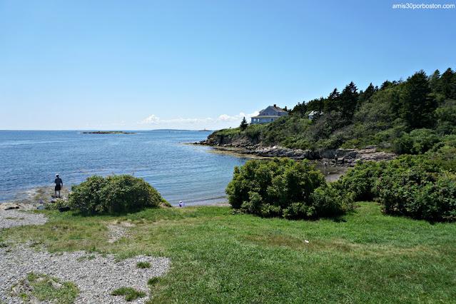 Exteriores de Land's End Gift Shop en Bailey Island, Maine