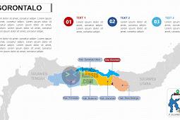 Peta Gorontalo PPTX (Powerpoint)