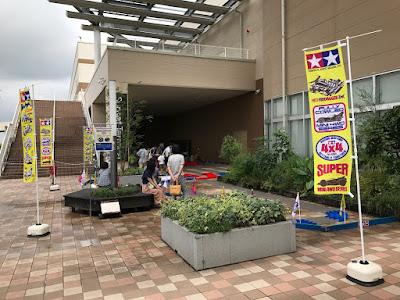 全長200mのミニ四駆コースが登場!!