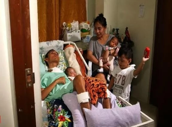 Pinay Stands by Comatose Husband Even After Giving Birth to Twins! Extraordinary story!