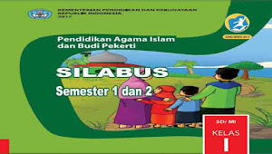 Silabus PAI dan BP Kelas 1 SD Kurikulum 2013 revisi 2017