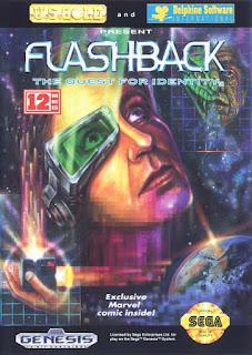 Jogo Flashback online grátis para Mega Drive